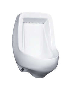 Mansfield  Half Stall Wall Mount  Urinal  0.5 gal. White