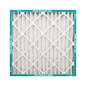 AAF Flanders  20 in. W x 25 in. H x 1 in. D Polyester Synthetic  8 MERV Pleated Air Filter