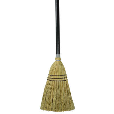 Rubbermaid Commercial  Pro Plus  7.5 in. W Stiff  Corn  Broom