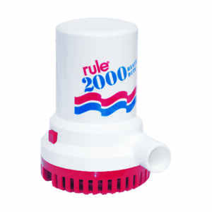 Rule  Bilge Pump  12 volt 2000 gph