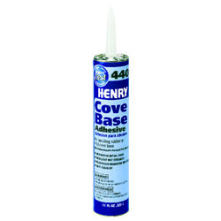 Henry  High Strength  Paste  Cove Base Adhesives  11 oz.