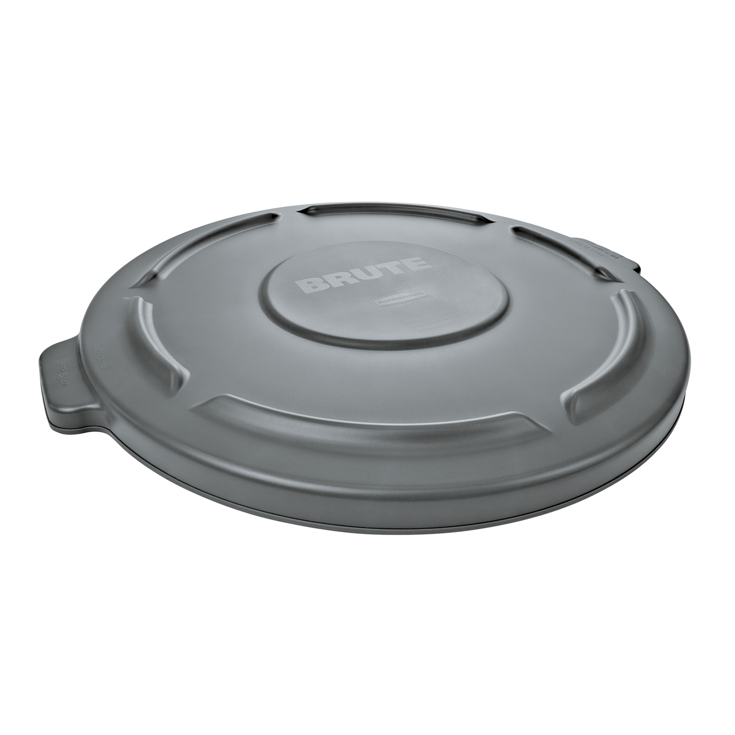 Rubbermaid Commercial  BRUTE  32 gal. Plastic  Garbage Can Lid