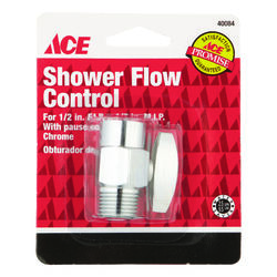 Ace  Chrome  Chrome  Shower Flow Control