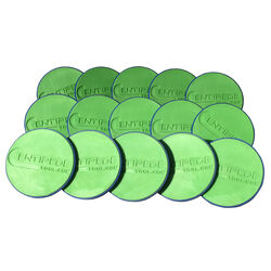 Centipede  Non-Slip Surface Pads  Blue/Green  15 pk