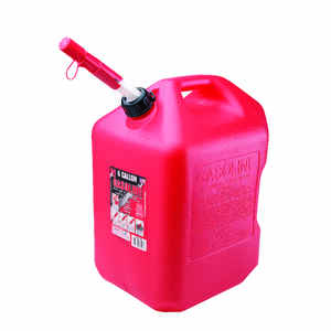 Midwest Can  Plastic  Gas Can  6 gal.