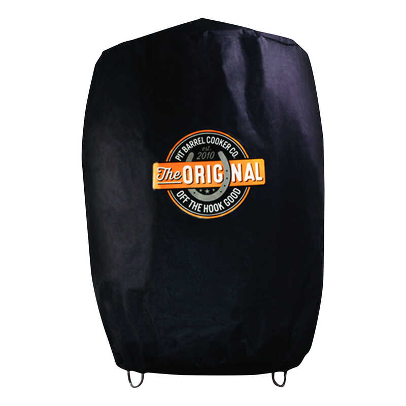 Pit Barrel Cooker  Premium  Black  Grill Cover  26 in. W x 36 in. H For 18-1/2 in. Pit Barrel Cooker