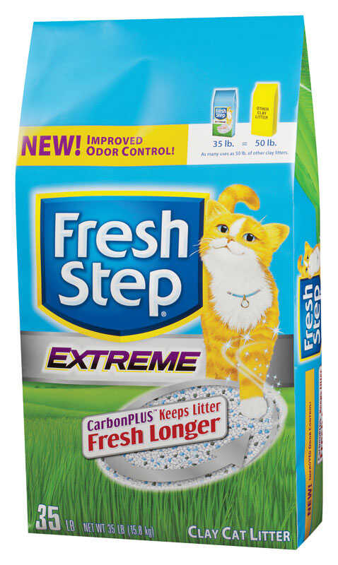 Fresh Step  Natural Scent Cat Litter  35 lb.