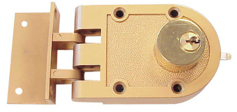Ace  Gold Painted  Zinc  Double Cylinder Lock