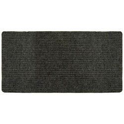 Multy Home 60 in. L x 24 in. W Charcoal Indoor Polyester/Vinyl Nonslip Utility Mat