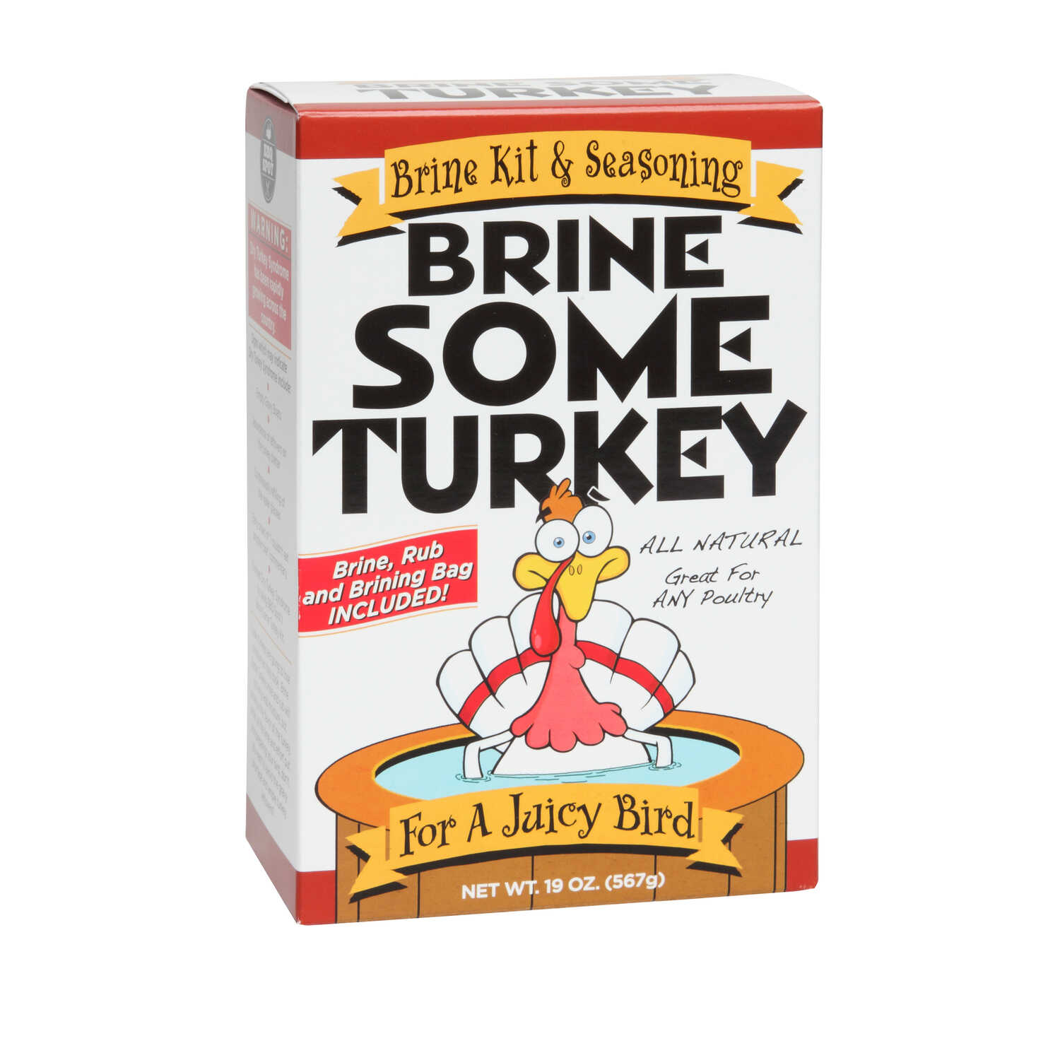 Brine Some Turkey  Poultry  All Purpose Brine Mix  19 oz.