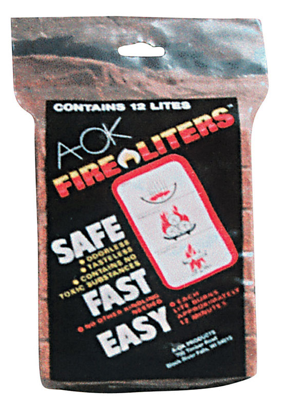 Fire Liters  Wood Fiber  Fire Starter  12 pk
