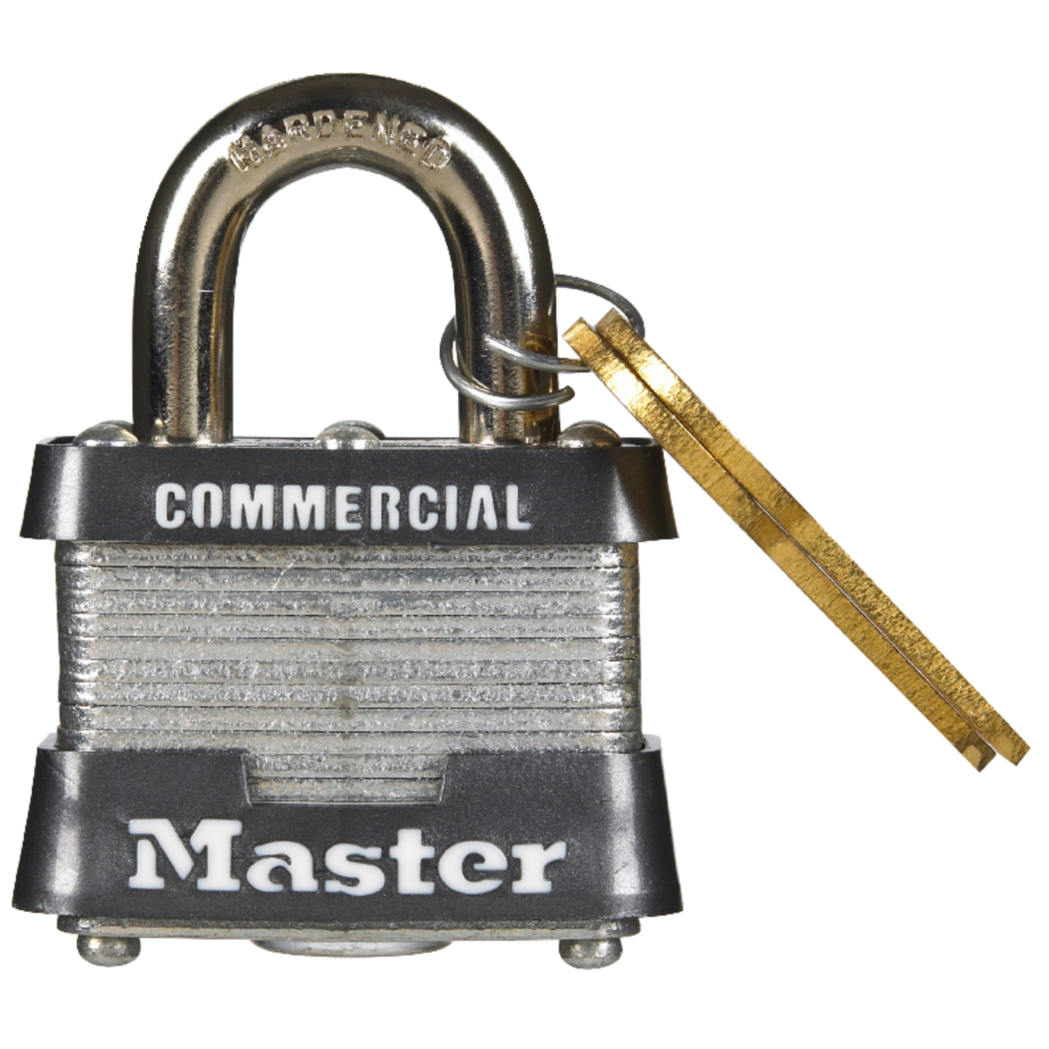 Master Lock  1-5/16 in. H x 1-5/8 in. W Steel  Padlock  6 pk Keyed Alike Double Locking