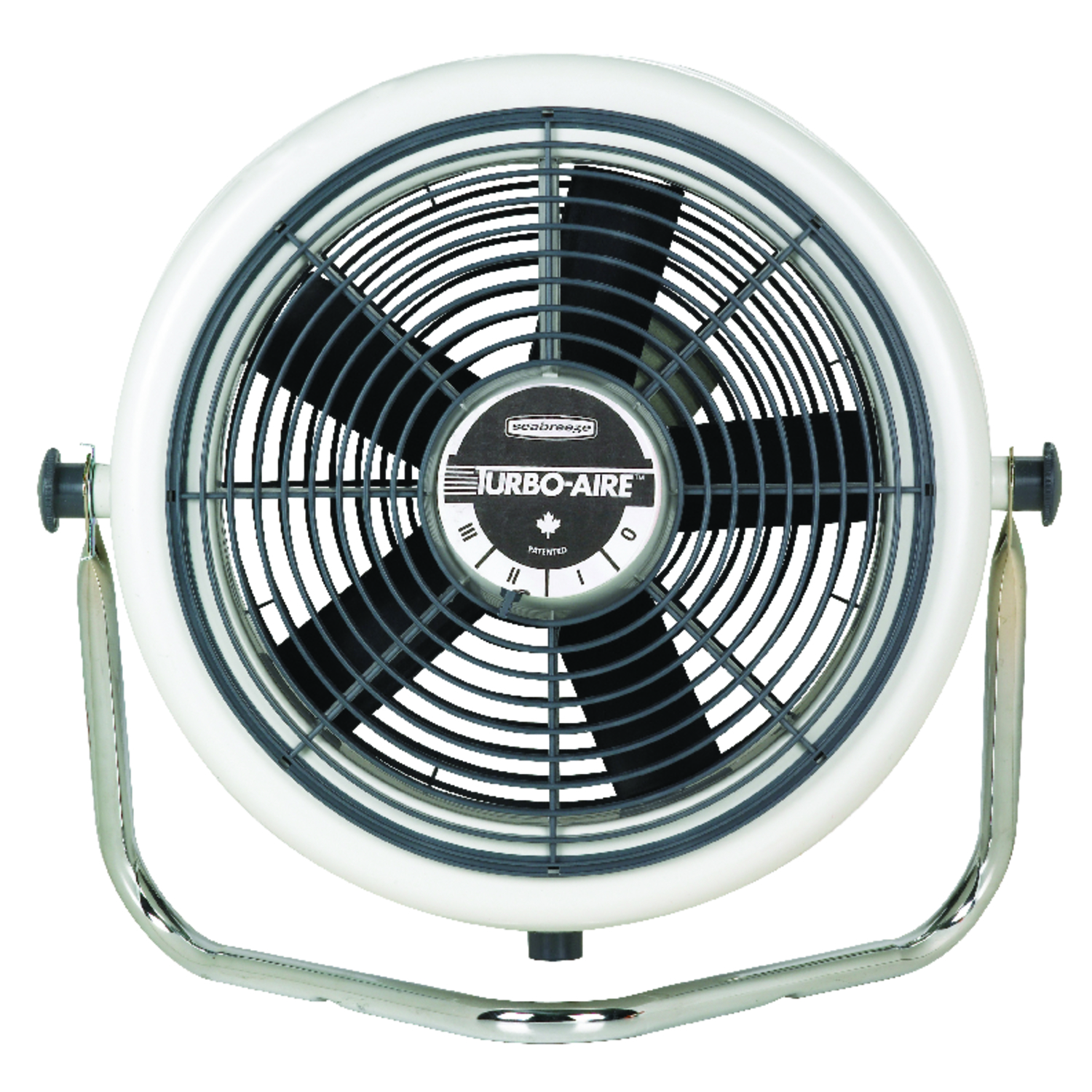 Seabreeze  TURBO-AIRE  12 in. 3 speed Electric  Wall Mount Fan