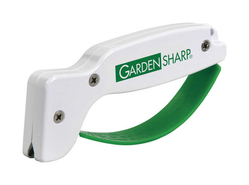 GardenSharp  AccuSharp  Gloss  Tungsten Carbide  1  Garden Tool Sharpener  Green