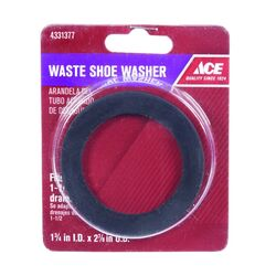 Ace  1-1/2 in. Dia. Rubber  Replacement Washer  1 pk