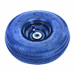 Ace  13 in. Dia. Garden Cart Wheel  Butyl Rubber