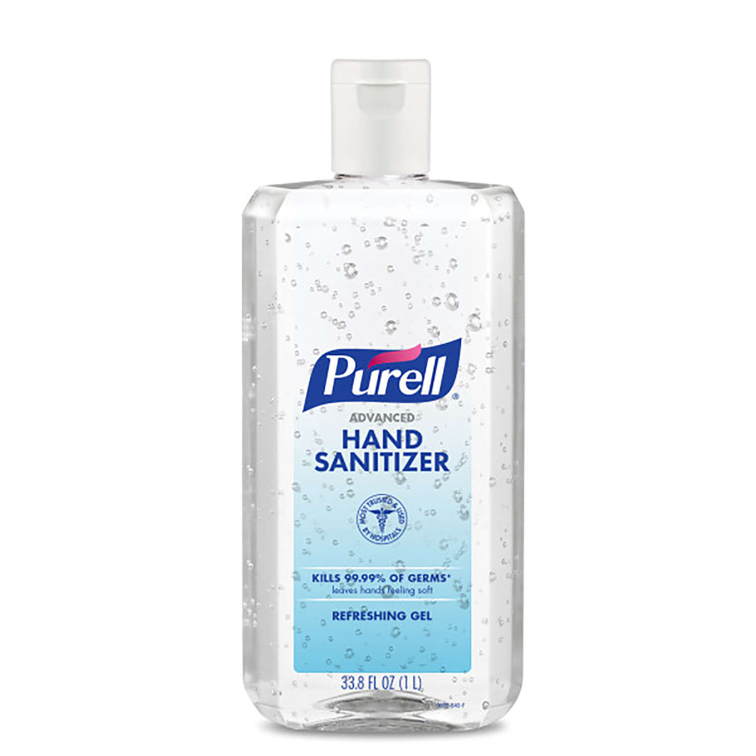 Purell  Gel  Advanced Hand Sanitizer  33.8 oz.