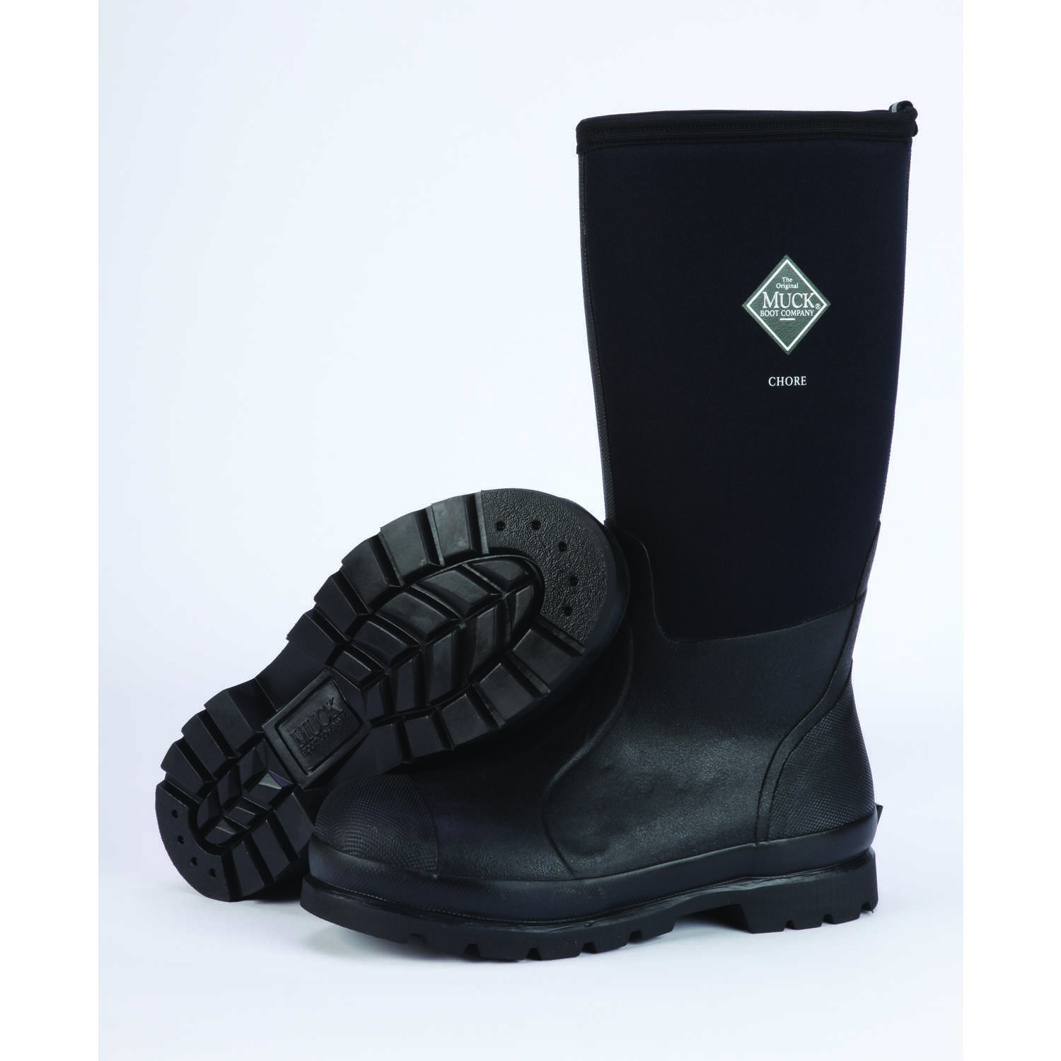 The Original Muck Boot Company  Chore Hi  Men's  Boots  12 US  Black