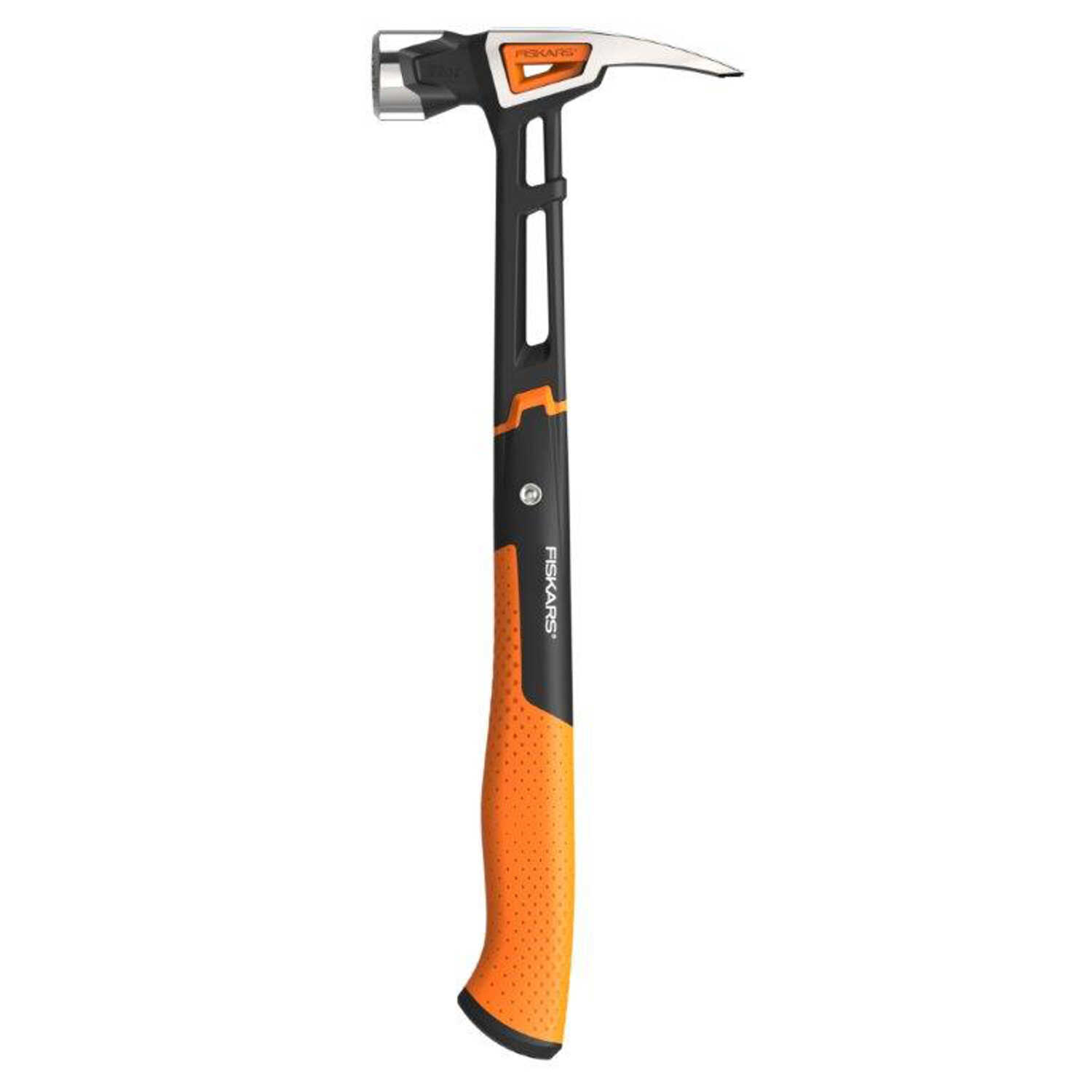Fiskars  IsoCore  22 oz. Framing Hammer  Steel Handle  15-1/2 in. L