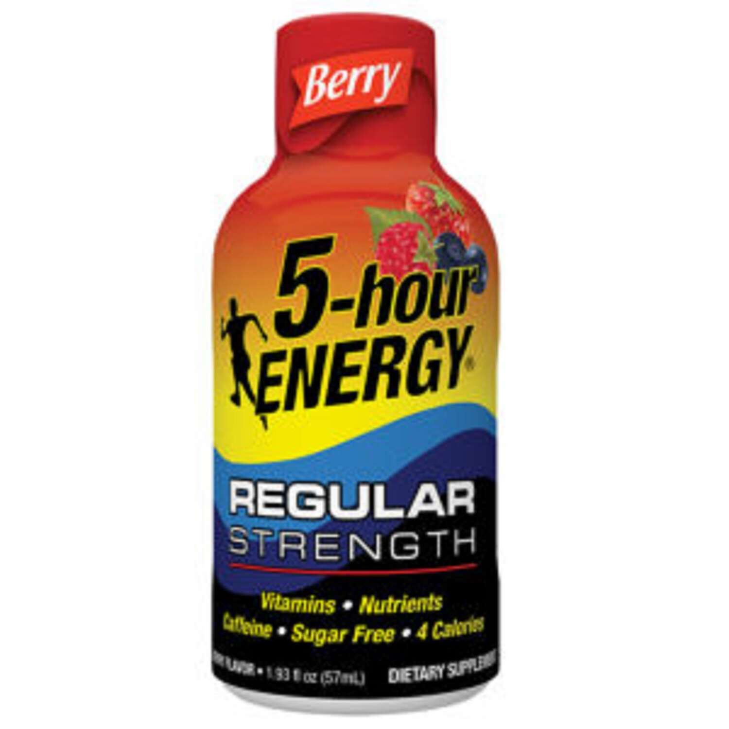 5-Hour Energy  RegularStrength  Sugar Free Berry  Energy Shot  1.93 oz.