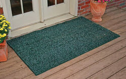 GrassWorx  Flair  Green  Polyethylene  Nonslip Door Mat  60 in. L x 36 in. W
