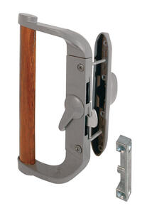 Prime-Line  Wood Tone  Steel  Outdoor  Sliding Screen Door Latch/Pull
