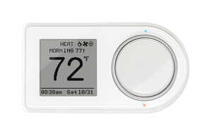 Lux  Built In WiFi Heating and Cooling  Touch Screen  Smart Thermostat