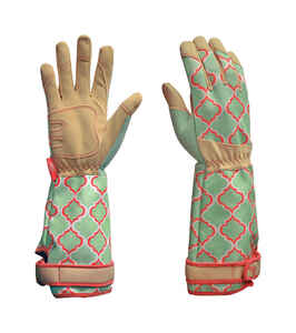 Digz  Green  Women's  M  Acrylic  Gardening Gloves