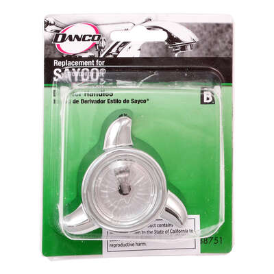 Danco For Sayco Chrome Tub and Shower Diverter Handle