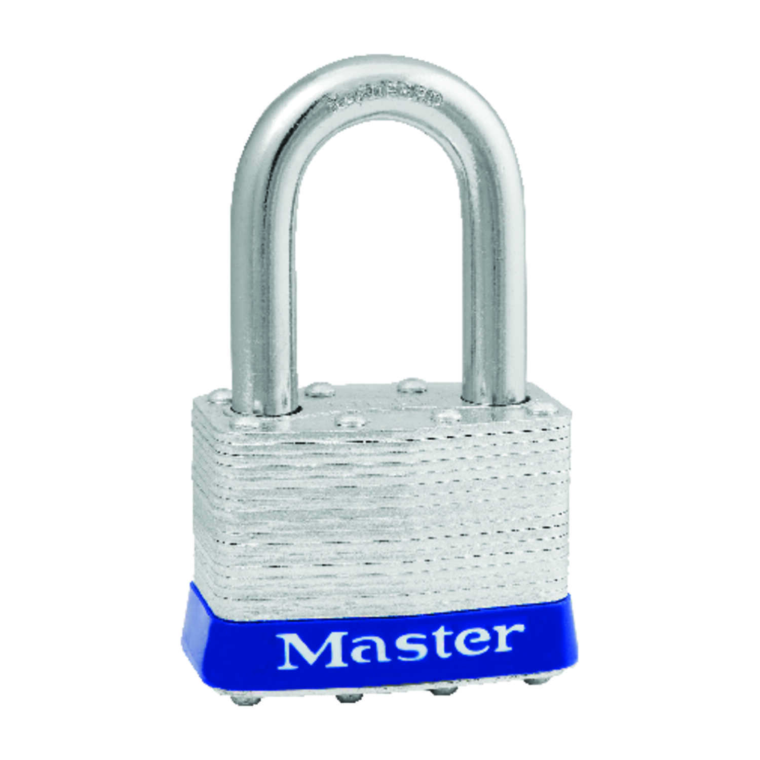 Master Lock  1-1/2 in. H x 1-1/8 in. W x 2 in. L Steel  Pin Tumbler  Padlock  Keyed Alike