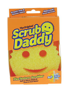 Scrub Daddy  Heavy Duty  Sponge  For All Purpose 1 pk