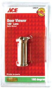 Ace Door Viewer     Satin Nickel       Fits Doors 1-3/8 in. to 2 in. Thick