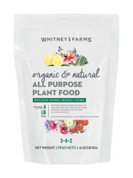 Whitney Farms All Purpose Granules Organic Plant Food 4 lb.