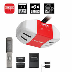 Craftsman Chamberlain 1/2 hp Belt Drive WiFi Compatible Smart Garage Door Opener