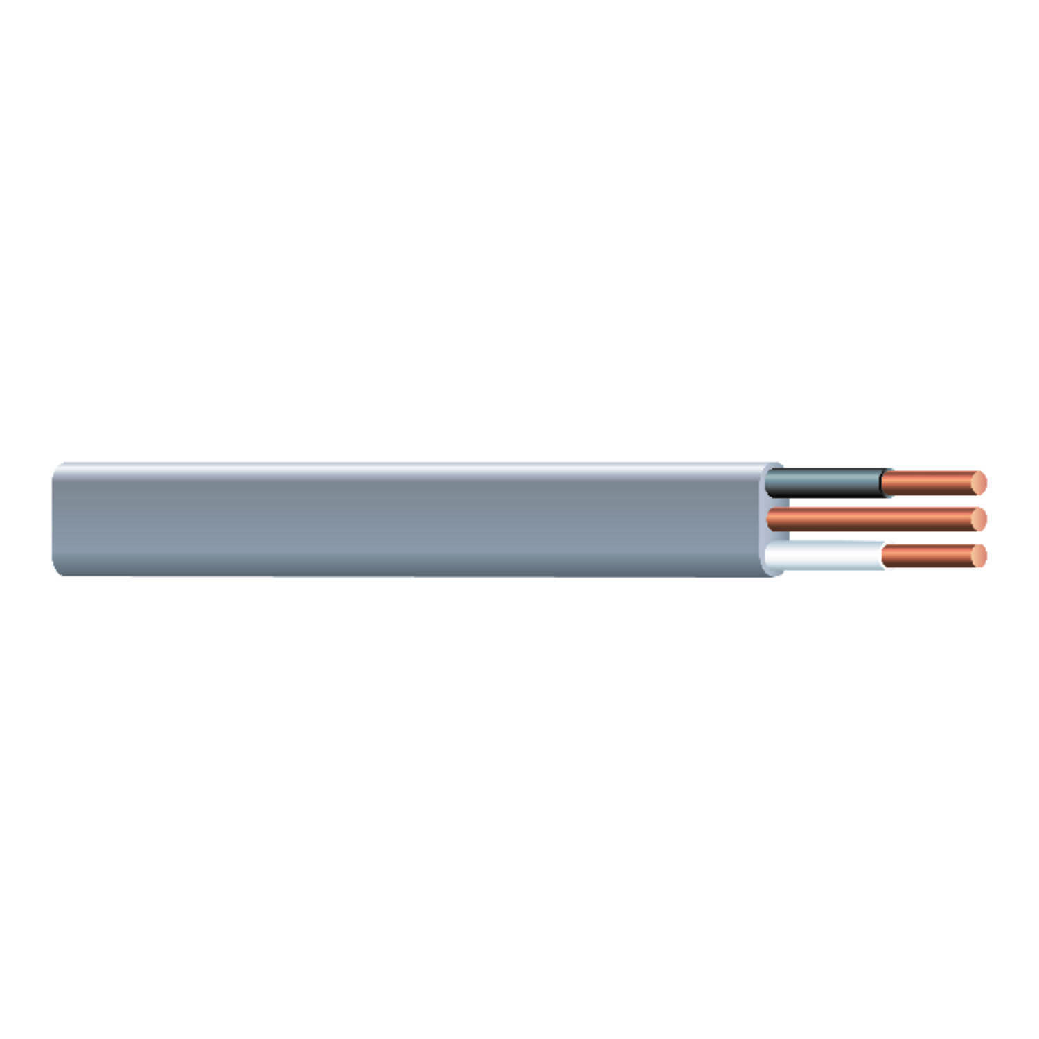 Southwire  25 ft. 14/2  Solid  Underground Cable  UF