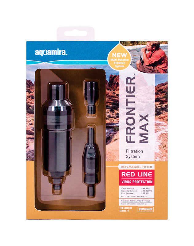 Aquamira  Frontier  Water Filtration System  For In-Line 120 gal.