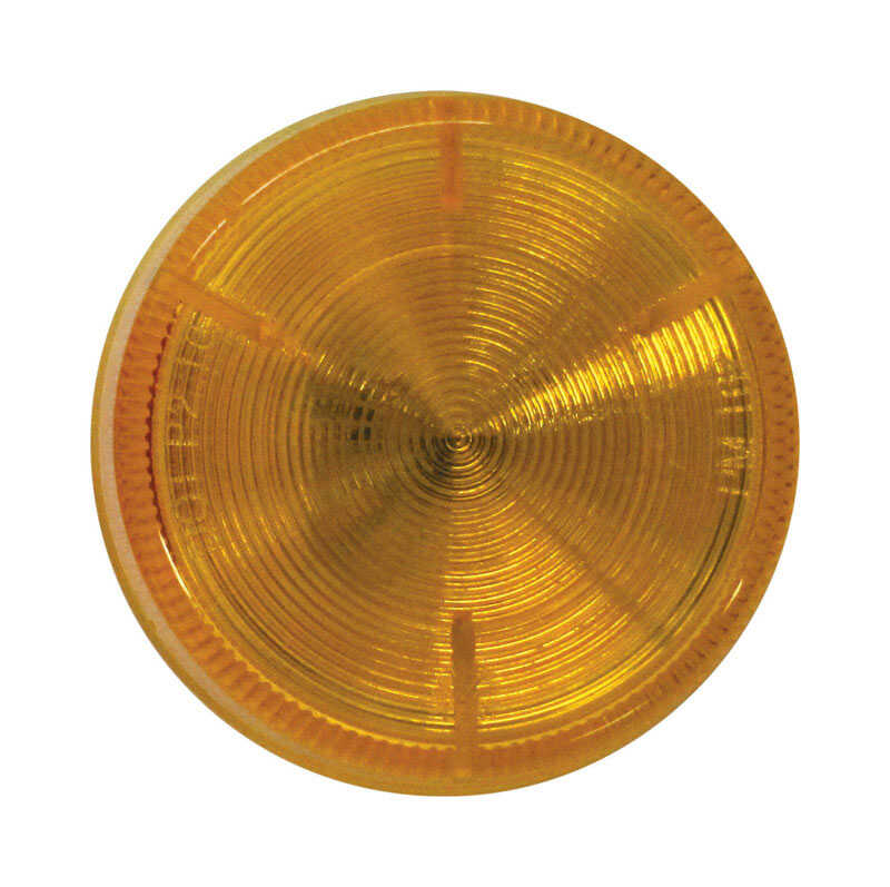 Peterson  Amber  Clearance Side Marker Light  Round