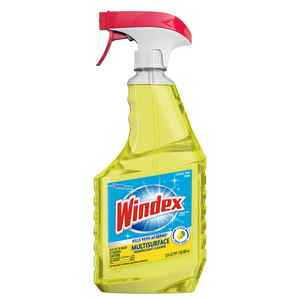 Windex  No Scent Multi-Surface Cleaner, Protector and Deodorizer  23 oz. Liquid