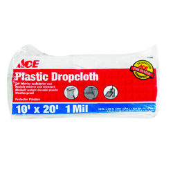 ACE  10 ft. W x 20 ft. L x 1 mil  Plastic  Drop Cloth  1 pk