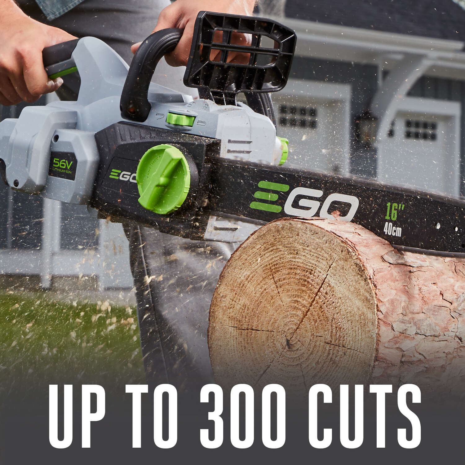 EGO  16 in. Battery Powered  Chainsaw