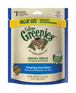 Greenies  Tempting Tuna  Cat  Treats  1 pk 2.5 oz.