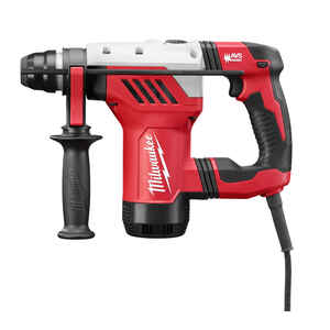 Milwaukee  1-1/8 in. SDS-Plus  Corded  Rotary Hammer Drill  Kit 8 amps 3.6 ft./lbs. 5500 bpm