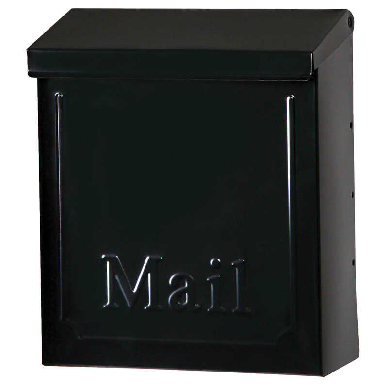 Gibraltar  Vertical  Wall-Mounted  Lockable Mailbox  10-1/2 in. H x 4 in. W x 9 in. L x 10-1/2 in. H