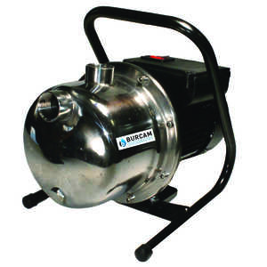 Burcam  Stainless Steel  1 hp 1215 gph 115 volt Sprinkler Pump