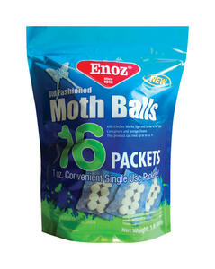 Enoz  Old Fashioned  Moth Balls  16 oz.