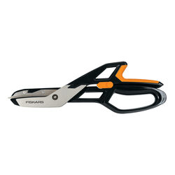 Fiskars  PowerArc  13 in. Stainless Steel  Straight  Snips  1 pk