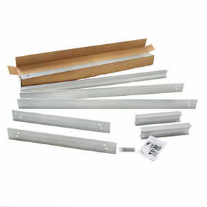 Tommy Docks  Silver  Metallic  Dock Kit  Aluminum