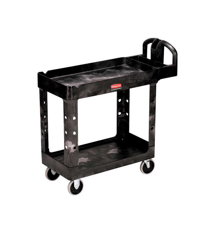Rubbermaid Commercial  Structural Foam  Utility Cart  400 lb.