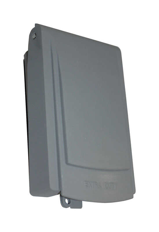 Sigma  Slimline  Rectangle  Plastic  1 gang In-Use Cover  For Protection from Weather
