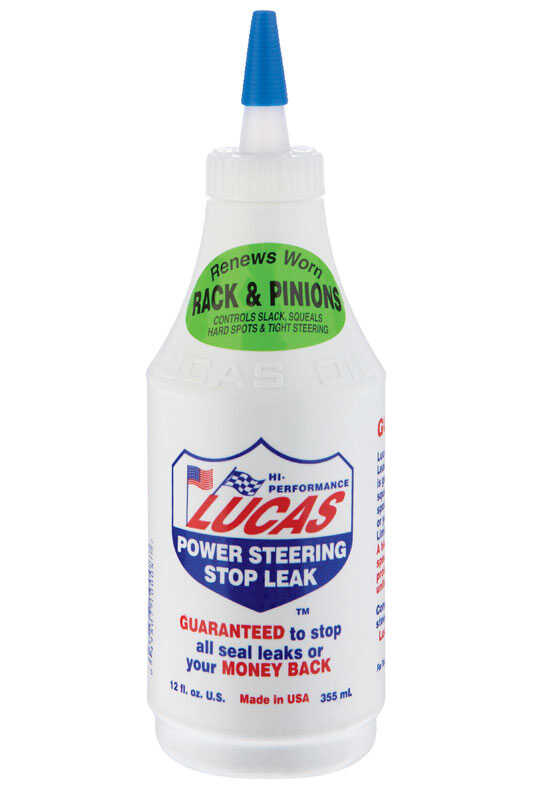 Lucas Oil Power Steering Stop Leak 12 oz.